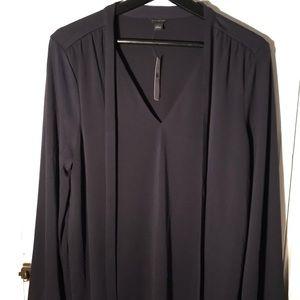 Ann Taylor Woman's Large Long Sleeve Dress Shirt